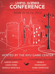 The inaugural Living Games Conference.